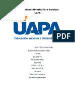 Unidad VI Español UAPA