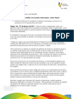07 02 2011-El gobernador de estado de Veracruz Javier Duarte asistió a la Junta de Gobierno del Instituto de la Juventud Veracruzana (INJUVER)