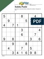 Sudoku Sample 10