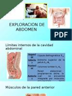 Exploración Física de Abdomen