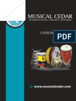 Catalogo Musical Cedar
