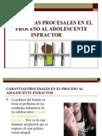 Garantias Procesales en El Proceso Al Adolescente Infractor 2014