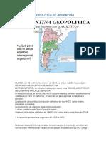 Geopolítica de Argentina