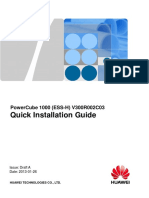 PowerCube 1000 (ESS-H) Quick Installation Guide (V300R002C03_Draft a)