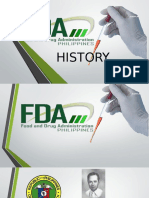 (2) History of BFAD