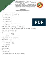 Ventilação - Lista de Exercícios 01 - Gabarito