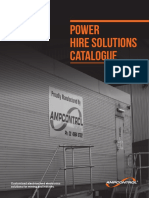 Power Hire Solutions August 2013