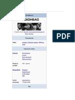 Radiohead Inicios
