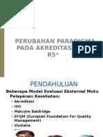 Paradigma akreditasi baru