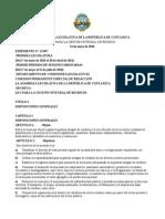 LEY PARA LA GESTIÓN INTEGRAL DE RESIDUO - COSTA RICA