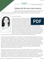 Algunas complejidades del divorcio ante notario - EML.pdf