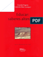 Educar Saberes Alterados