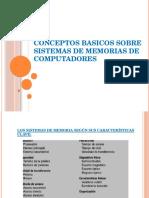 Conceptos Basicos Sobre Sistemas de Memorias de Computadores s5l Josue Torres