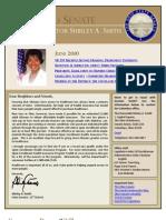 State Senator Shirley Smith - June 2010 E-Newsletter