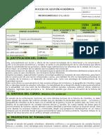 Microcurrículo Historia y Geografía de Colombia 2015-1