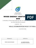 small hydropower