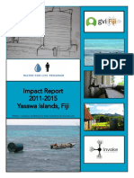 Water for Life - Impact Report 2011-2015