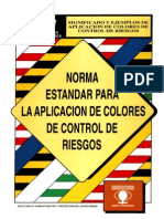 Norma estándar para aplicación de colores de control de riesgos [NECC1]