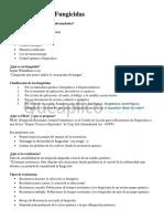 Clasificación de Fungicidas