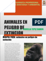 Animale en Peligro de Extinsion