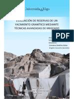 Evaluación de Reservas de Un Yacimiento Granítico