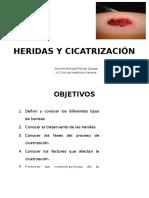 Heridas y Cicatrización