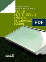 Manual Para El Cálculo y Diseño de Calentadores Solares