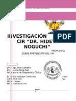 Propuesta Sobre Prevención Del VIH