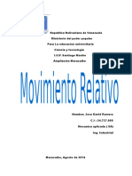 Movimiento Relativo. JD