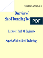 Overview of Shield Tunnelling Technology