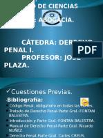 Clase Derecho Penal Nº1-Lunes Ültima