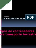 Tipos de Contenedores Para Diferentes Medios de Transporte
