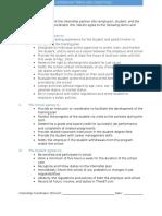 cte internship contract