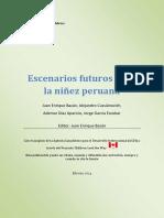 Scc Estudio Niñez y Escenarios Futuros Peru Final 2014