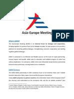 ASEM Fact Sheet Updated
