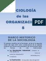 SOCIOLOGÍAORGANIZACIONES