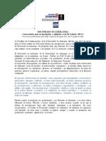 Doctorado Literatura XI Cohorte. Información