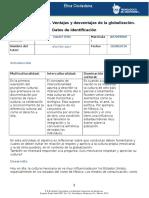 MV-U1- Actividad 1. Ventajas y Desventajas de La Globalización.