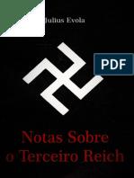 Notas Sobre o Terceiro Reich - Julius Evola