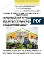 Nota de Prensa 2016 - 202