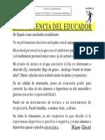 La Influencia Del Educador. Jesús Rivilla