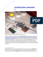 Arduino based Home Automation System using Bluetooth through an