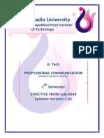 030040103 - Professional Communication