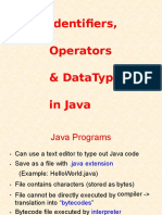 Java Basics Concepts