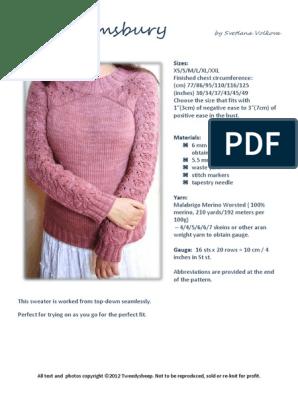 Bloomsbury pdf | Knitting | Handicrafts