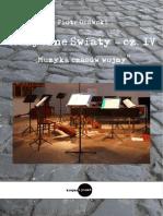 Muzyczne c59bwiaty Cz IV Muzyka Czasc3b3w Wojny