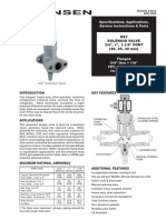 VALVULA DE SOLENOIDE HS7 Bulletin
