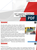 GST Legislation Fixation of Rate of Tax Can Be Most Problematic