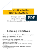 #1 Introduction to the Nervous System