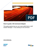 How-To Guide Os Command Adapter